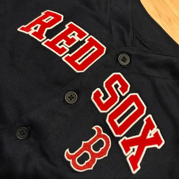wholesale dealer 7c703 bf899 🔷 Kids Boston Red Sox Jersey